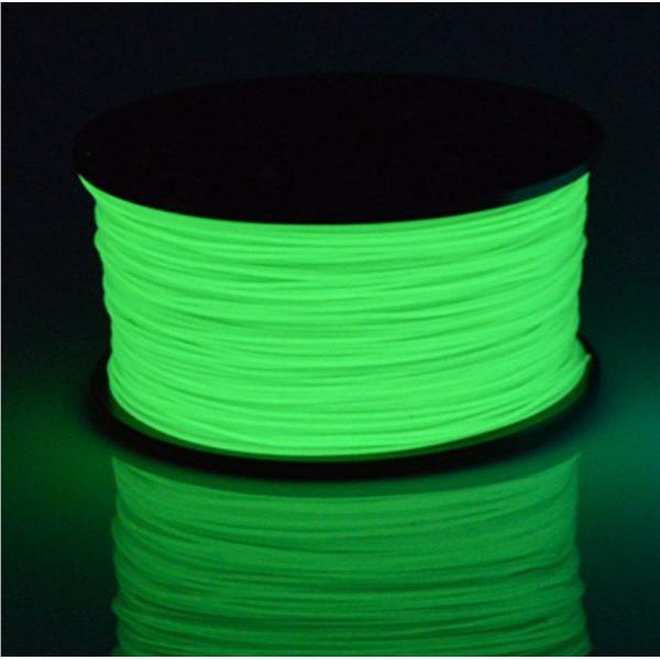 Светящийся PLA пластик для 3D ручек и 3Д принтеров