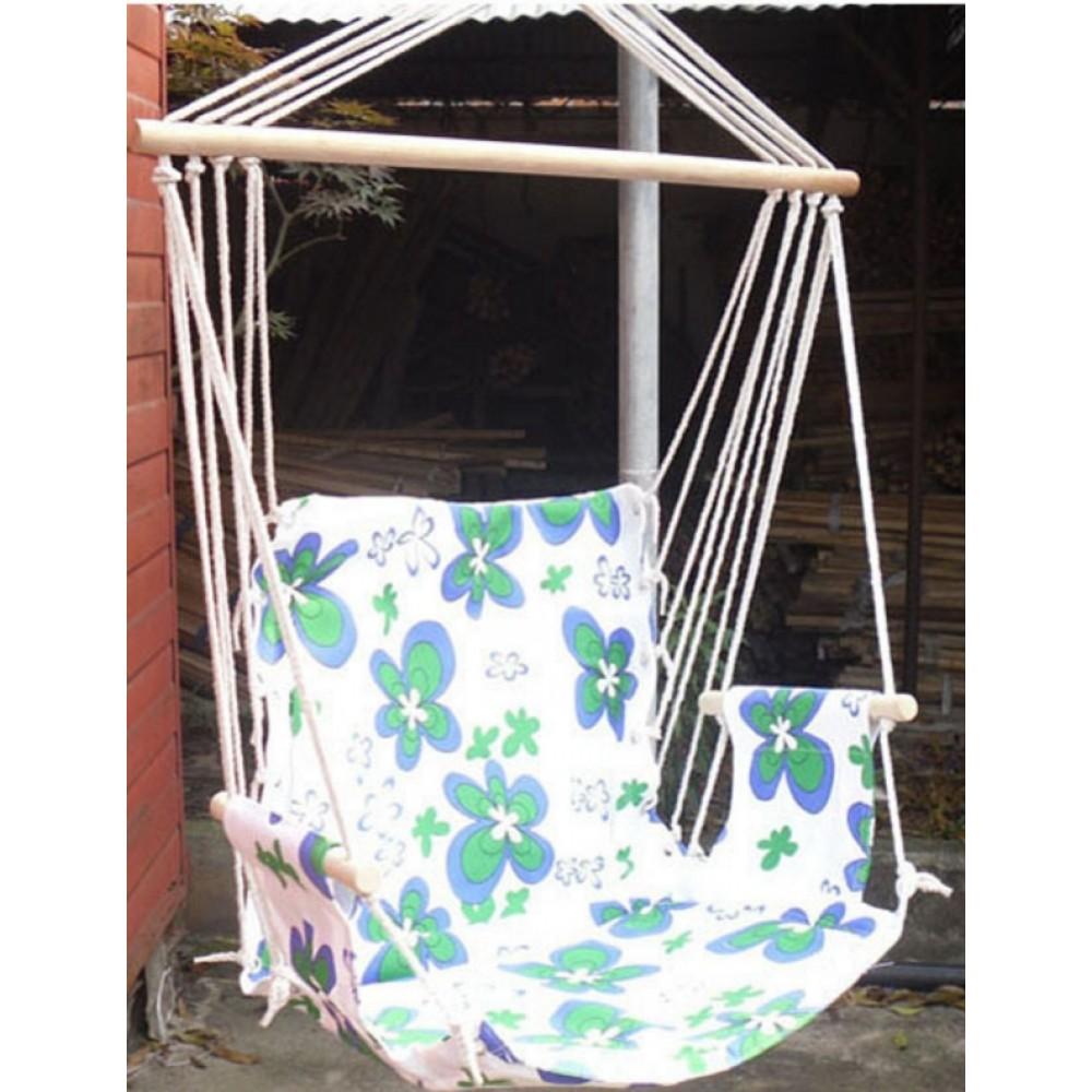 Гамак кресло качель подвесной 100x50см